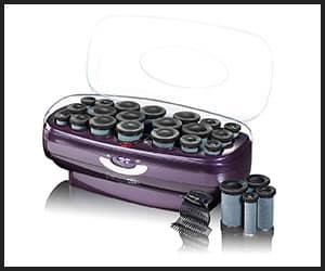 Infiniti Pro by Conair Instant Heat Ceramic CHV27R Flocked Rollers