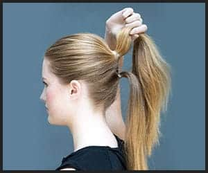 Mega Volume Double Pony Hairstyle