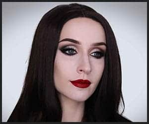 Morticia Adams Hairstyle