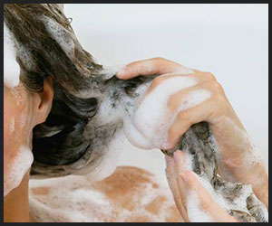 rinse-off the shampoo thoroughly
