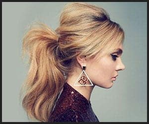 The Voluminous, Messy Top Pony