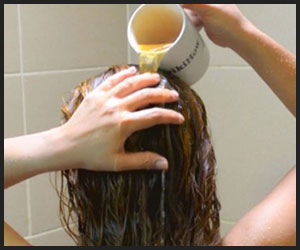 wash your hair with pre-shampoo