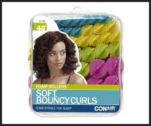Conair Soft, Bouncy Curls Foam Rollers - V1 Jun