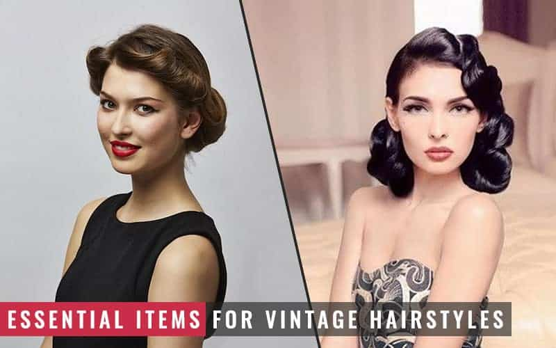 Featured Image of Essential Items for Vintage Hairstyles