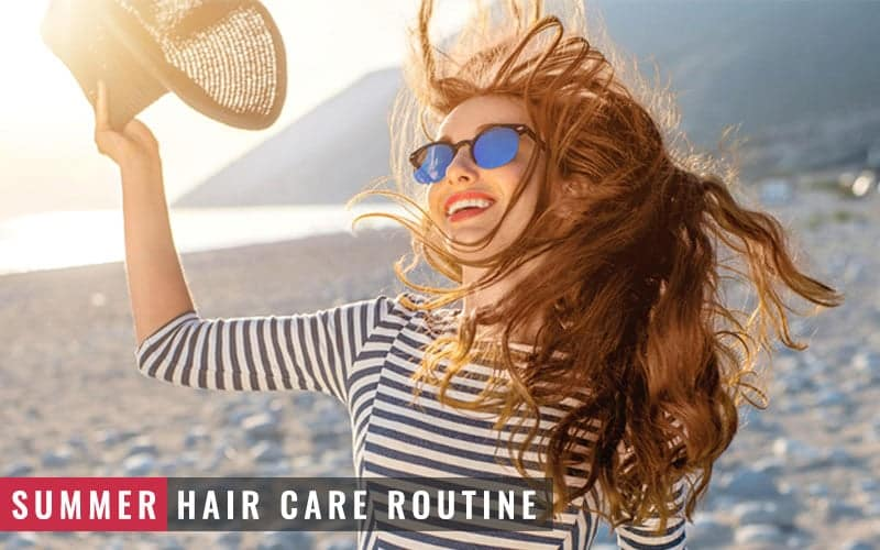 Featured Image of Summer Hair Care Routine