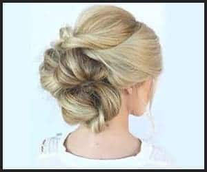 Wispy, Softly-twisted Chignon