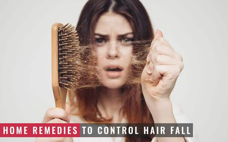 Featured Image of Home Remedies to Control Hair Fall