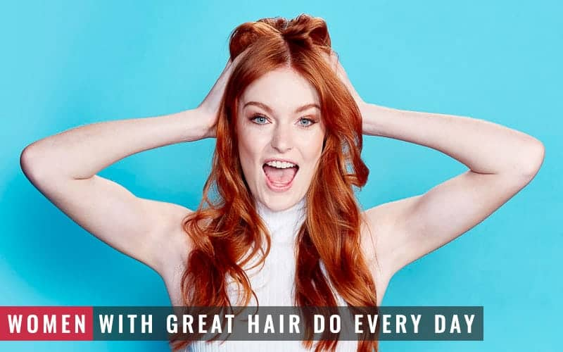 Featured Image of Women With Great Hair Do Every Day