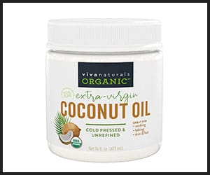 Viva Naturals Organic Extra Virgin Coconut Hair Oil