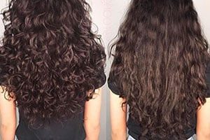Curly Hair Layers Vs No Layers