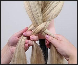 cross-over for braiding hair