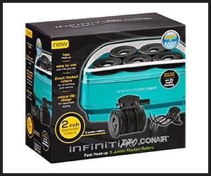 Infiniti Pro by Conair 2 Jumbo Flocked Rollers